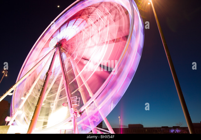 Middlesbrough wheel - Stock Image