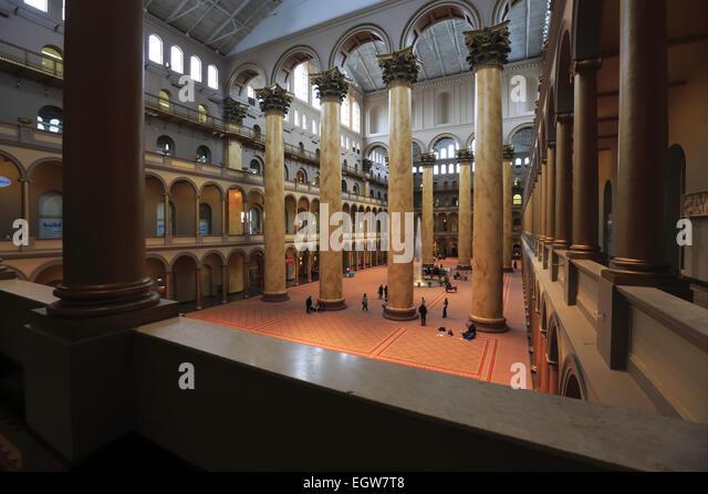 Foyer Museum Usa : Pension building stock photos