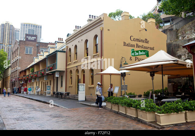 Pizza Restaurant The Rocks Sydney