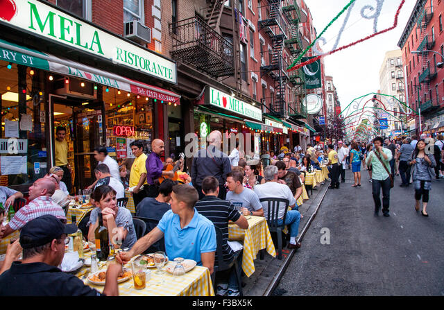 Restaurants Little Italy New York Ny