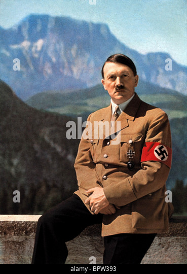 ADOLF HITLER IN EARLY 1940'S FUHRER OF GERMANY 01 May 1941 OBERSALZBERG GERMANY - Stock Image