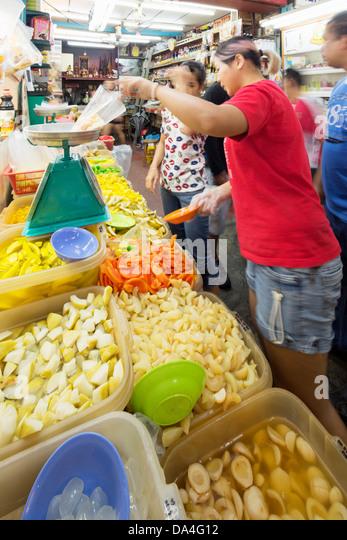 Sweet and sour fruits on sale Penang bazaar, Georgetown, Penang ...