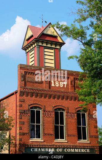 Old Chamber of Commerce building - Stock Image