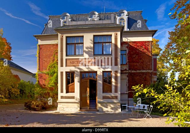 Nietzsche Archive at Villa Silberblick in Weimar, Thuringia, Germany - Stock-Bilder