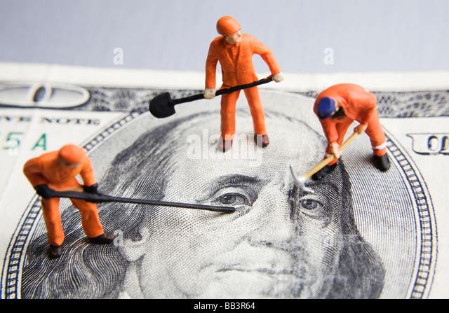 Fixing the economy - Stock-Bilder