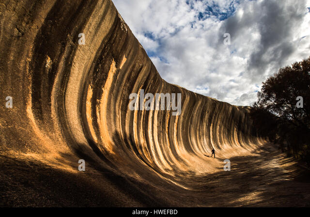 Wave Rock, Western Australia - Stock-Bilder