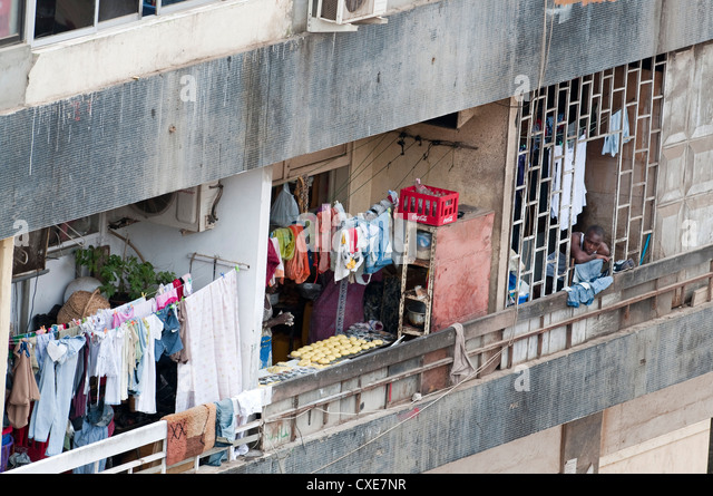 Street scenes in Luanda, Angola, Southern Africa, Africa - Stock Image