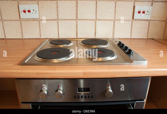Kitchen Hob Cartoon ~ Electric cooker stock photos