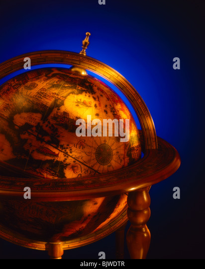 Antique Globe - Stock-Bilder