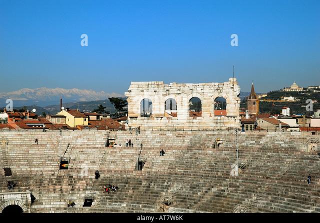 Amphitheatre Verona Opera Stock Photos & Amphitheatre ...