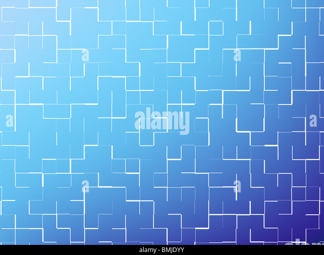 abstract background with blue and light blue colors - Stock Image