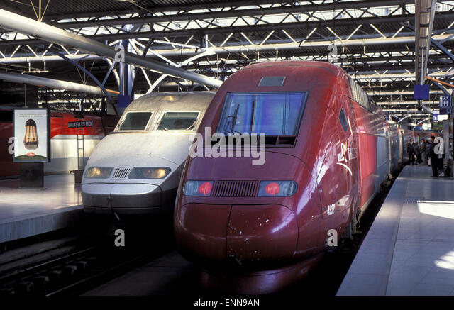 tgv thalys stock photos tgv thalys stock images alamy. Black Bedroom Furniture Sets. Home Design Ideas