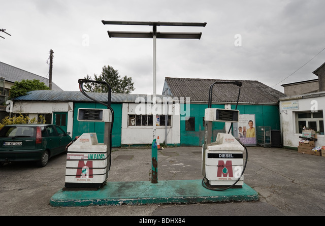 Old Petrol Station Stock Photos Amp Old Petrol Station Stock