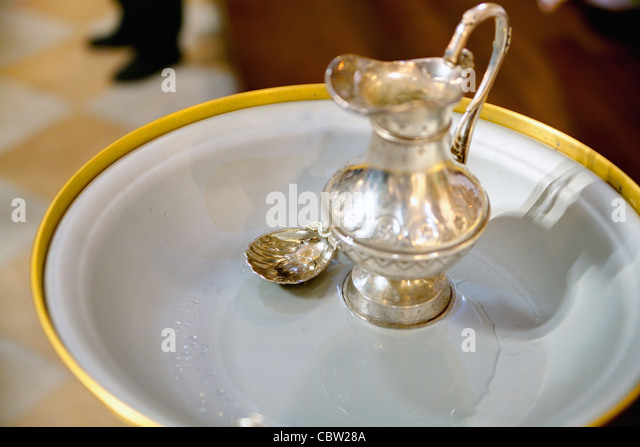 Holy water - Stock Image