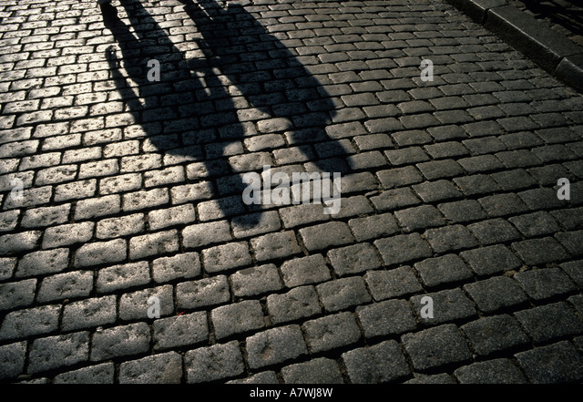 Stone Pavement In Paris : Achromatic stock photos images alamy