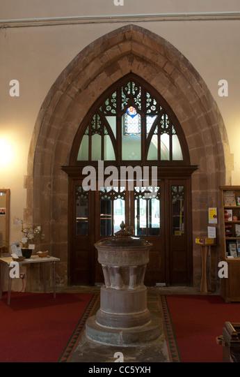 Warwickshire inside parish stock photos