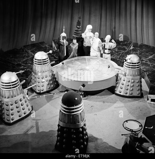'Mission to the Unknown', the second story of Season 3 of Doctor Who. The Beasts from UGH (United Galactic - Stock Image
