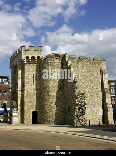 The Bargate, Southampton, Hampshire, England, UK, Great Britain - Stock-Bilder