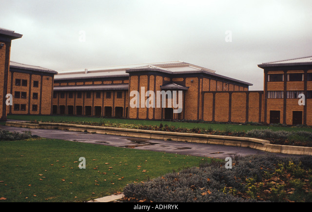 HM Prison Belmarsh, outside London, UK. Various buildings. - Stock Image