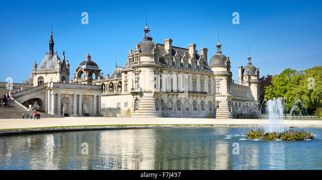 Chateau chantilly stock photos chateau chantilly stock images alamy - Chateau de chantilly adresse ...