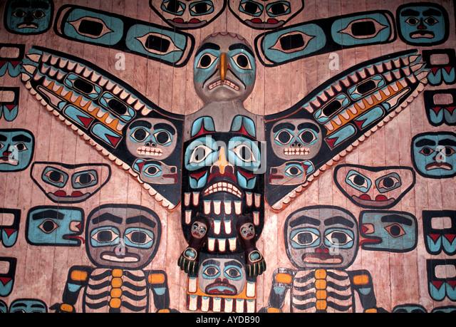 Alaska Juneau Alaska State Museum - Stock Image