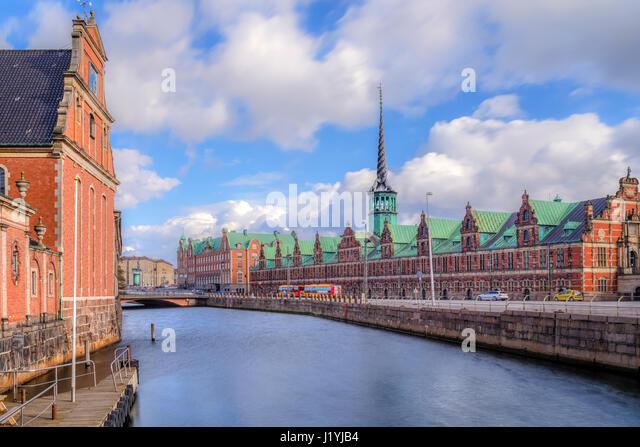 Borsen, Borsbygningen, Copenhagen, Denmark, Scandinavia - Stock-Bilder