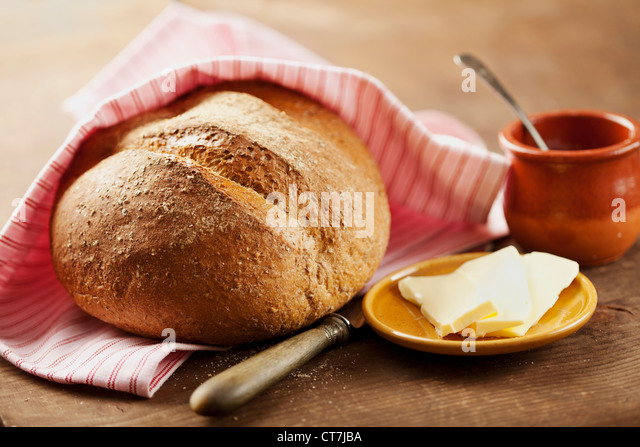 wholegrain bread - Stock Image
