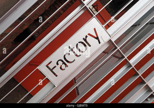 Factory Records Offices FACT251, 118 Princess St, Manchester M1 7EN, England, UK - Stock Image