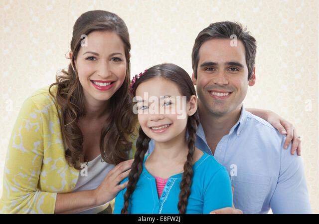 View of Family portrait - Stock-Bilder