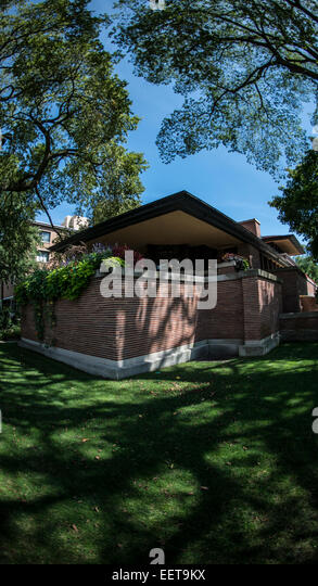 Robie house stock photos robie house stock images alamy for Classic chicago house