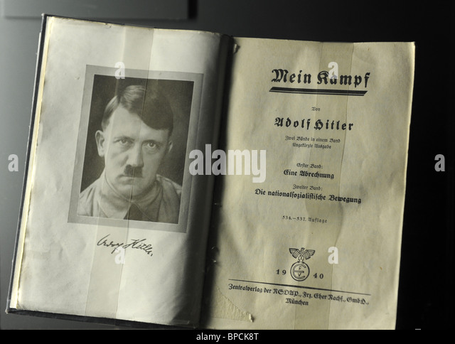 adolf hitlers mein kampf book What you need to know about mein kampf, adolf hitler's autobiography that has become a bestseller in germany.