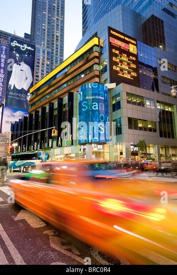 Times Square, Manhattan, New York City, New York, USA - Stock Image
