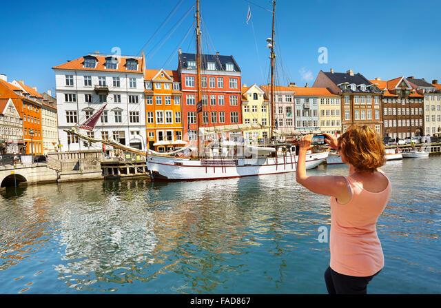 Copenhagen, Denmark - Stock Image