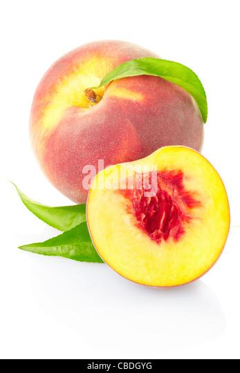 Peach fruit - Stock Image