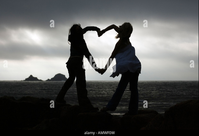 Romantic,love,heart,valentine,together,people,sharing, - Stock Image