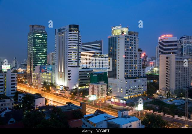 Central Bangkok Bangkok Thailand - Stock Image