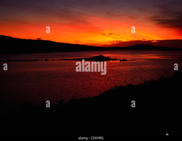 Ardbear Bay, Clifden, Connemara, Co Galway, Ireland - Stock Image