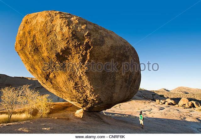 Bull's Party, Ameib Ranch, Usakos, Namibia. - Stock Image