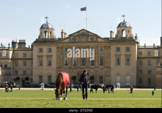 Badminton Horse Trials Gloucestershire UK. HOMER SYKES - Stock Image