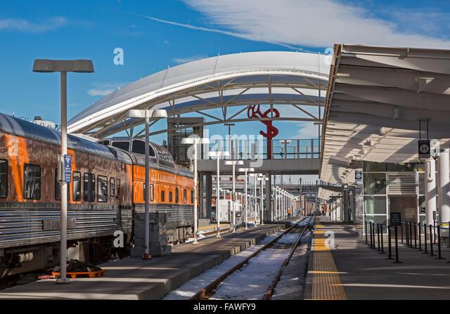 Denver, Colorado - Union Station. - Stock Image