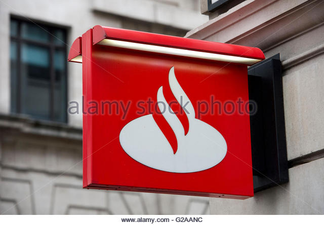 Santander Sign Stock Photos Amp Santander Sign Stock Images