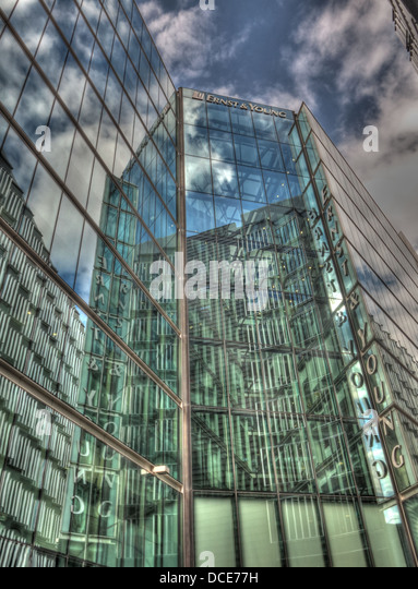 Ernst and Young offices, 1 More London Place, Southbank London England UK - Stock Image