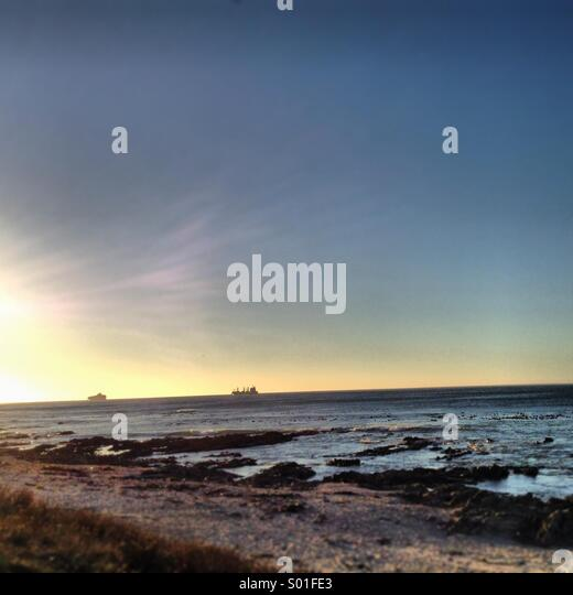 Sea Point Beachfront - Stock Image