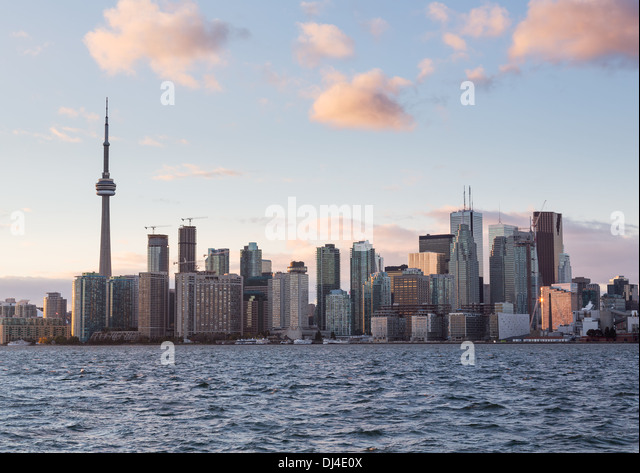 Toronto skyline, Canada - Stock Image
