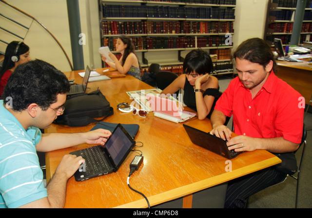 Chile Santiago Bellavista Universidad de Chile University of Chile higher education institution campus Hispanic - Stock Image