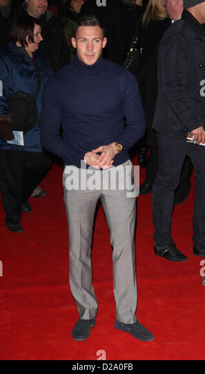 London, UK, 17th January 2013. Kirk Norcross attends Flight - UK film premiere at the Empire, Leicester Square. - Stock Image