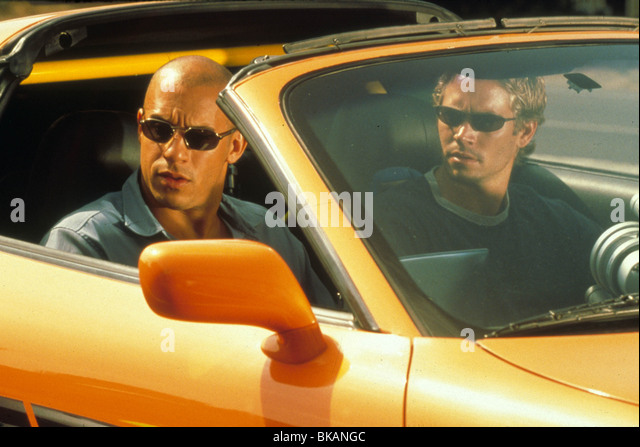 THE FAST AND THE FURIOUS (2001) RACER X, STREET WARS (ALT) VIN DIESEL, PAUL WALKER FATF 061 - Stock Image