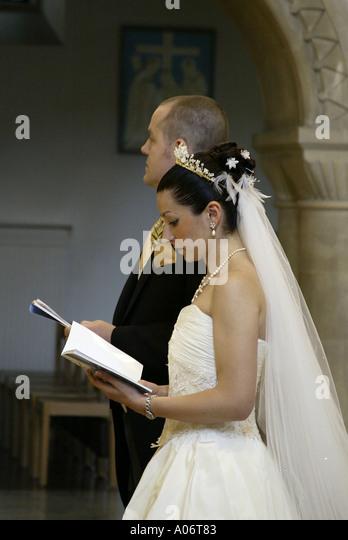 Catholic Wedding Vows Stock Photos Amp Catholic Wedding Vows Stock Images