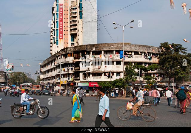 Mumbai Ansal housing Dr Annie Besant Road Worli Mumbai ( Bombay ) India - Stock Image