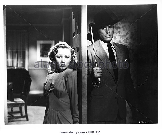 BORN TO KILL (1947), directed by Robert Wise. Left - Right:  Audrey Long, Lawrence Tierney.  Courtesy Granamour - Stock Image